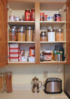 Home Organization Challenge: The Kitchen