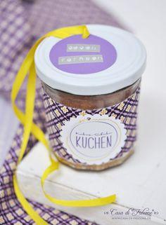 Kokos-Schoko-Kuchen im Glas I Geschenke aus der Küche I Casa di Falcone + Rezept