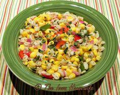 The Iowa Housewife: Barley Corn Salad