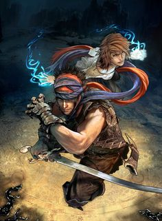 Prince of Persia by Xavier Thomas, via Behance