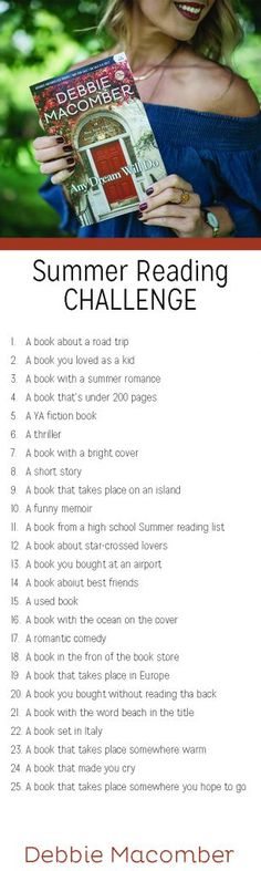Looking for a summer reading challenge?