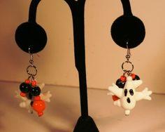 Dangle ghost earring