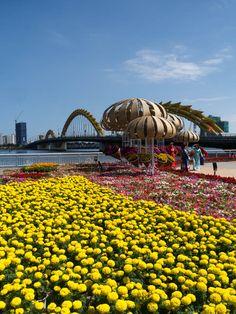Vietnam - Episodes of a Trip Da Nang, Sydney Harbour Bridge, Opera House, Vietnam, Day, Travel, Inspiration, Fire, City