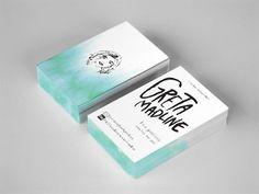 Greta Madline business cards (via Daily Inspiration)