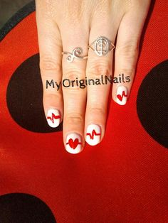 Heartbeats -MyOriginalnails