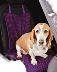 Projet DIY pour animaux: comment fabriquer vous-même une housse de siège de voiture pour chien afin de garder votre auto toujours propre!