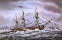 USS President became the HMS President after being captured in January 1815 during the #Warof1812