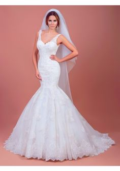 Cheap mermaid bridal gown, Buy Quality bridal gown directly from China gown wedding Suppliers: Newest Mermaid Bridal Gowns Wedding Dresses 2017 Spring V Neck Sleeveless Court Train Lace With Appliques Open Back Custom Made Sophisticated Wedding Dresses, Most Beautiful Wedding Dresses, Sexy Wedding Dresses, Elegant Wedding Dress, Wedding Gowns, Wedding Lace, The Bride, Forever, Trends