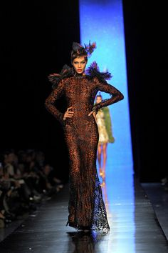 Jean Paul Gaultier Couture, Spring 2014 - This Is Why Joan Smalls Rules the Runway - Photos Jean Paul Gaultier, Paul Gaultier Spring, Joan Smalls, Spring 2014, Fashion Pictures, Catwalk, Runway Fashion, Perfect Fit, Elegant