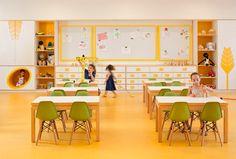 Elegant Classroom Idea For Kid In Modern school interior design