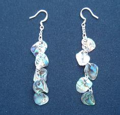Paua Dangly Earrings