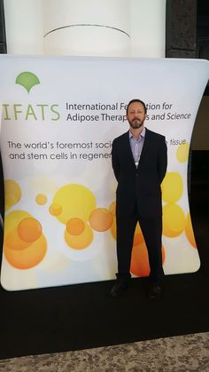 Jay E. Bowen, DO of New Jersey Regenerative Institute presented a poster and three podium presentations (Outcomes of Shoulder and Knee Osteoarthritis and Outcomes of Meniscal Tears treated with adipose tissue) at this weekend's IFATS conference in Miami.
