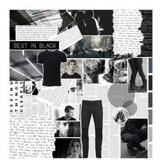 """""""{DIS2} """"When you'll have to rise, above the best and prove yourself """""""" by kate7695 ❤ liked on Polyvore featuring HUGO, Dr. Martens, Belstaff, Balmain, men's fashion, menswear, DauntlessCake and DauntlessInitiation2"""