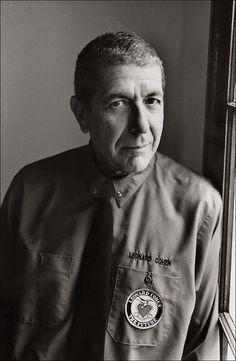 Portrait of Leonard Cohen 1993. http://ift.tt/2jZ9kou