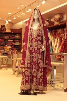 MAROON PAKISTANI BRIDAL (Price: $3,299) Design No: 8/0031 Embroidery: Zardosi and Stone work Fabric: Chiffon/ Banarasi Silk For more information please sales@sahil.com