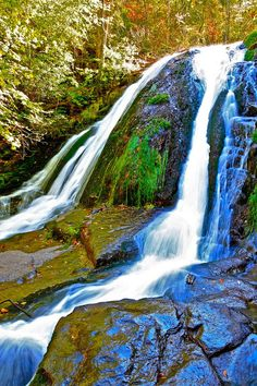 Roaring Run Falls State Park Virginia is a photograph by The American Shutterbug Society. This is Roaring Run Falls State Park, Virginia which is a very long ways on a foot trail to carry a lot of heavy camera gear, but well worth the trip! Source fineartamerica.com