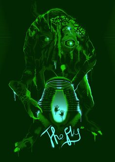The Fly (1986) [2300 x 3251]