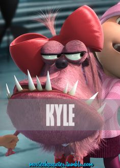 images of Kyle from despicable me Bad Minion, Minions Language, Despicable Me Memes, Pierre Coffin, Happy Facts, Orphan Girl, Bee Do, Minion Party, Movie Characters