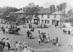 A parade through Rayleigh High Street, Essex, as part of the Rayleigh Carnival in 1921.