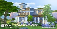 Sims 4 CC's - The Best: Swally Point Lighthouse by Peacemaker ic