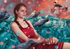 Future Tense: New Surreal Paintings by Alex Gross   Inspiration Grid   Design Inspiration