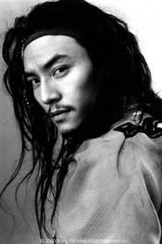 "Chang Chen. He played ""Lo"" in ""Crouching Tiger, Hidden Dragon""  I might have a wee bit of a crush on his character..."