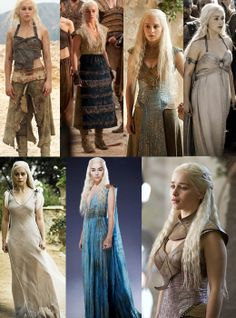 I would love to cosplay Dany, but I don't think that'll happen any time soon