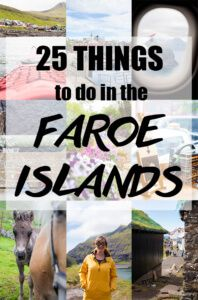 25 Things to do in the Faroe Islands