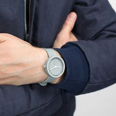 Fancy - Classic Grey Lead Watch by AÃRK Collective