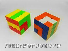 Patrones RUBIK 3x3 patron N. 13 por WL Rubik 3x3