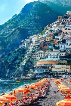 Positano, Amalfi Coast, South Italy ~ Places to Visit or Vacation. Places Around The World, Oh The Places You'll Go, Places To Travel, Places To Visit, Vacation Destinations, Dream Vacations, Dream Vacation Spots, Romantic Vacations, October Holiday Destinations