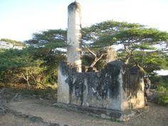 The Burial Tomb of a Revered Imam - Takwa Ruins - Manda Island, Kenya Most Beautiful, Beautiful Places, 2 Photos, Kenya, Jamaica, Coast, Earth, Island, Plants