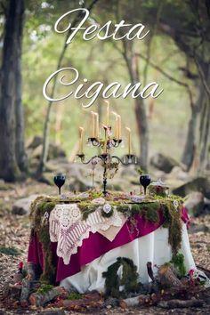 Dicas de Decoração para Festa Cigana!!                                                                                                                                                                                 Mais