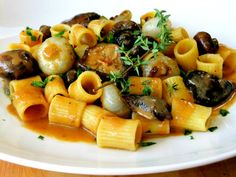 Mushroom Marsala with Cipollini and Thyme