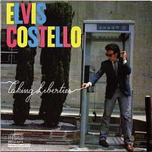 Elvis Costello - Taking Liberties LP Record Album On Vinyl