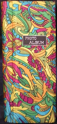OMG! I totally have this same album! Filled with all my old photos from the 60s-70s.