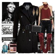"""""""Bronx"""" by denibrad ❤ liked on Polyvore featuring Bronx, Burberry, Finders Keepers, Konstantino, Ted Baker, Charlotte Tilbury, Chanel, Balenciaga and Bobbi Brown Cosmetics"""