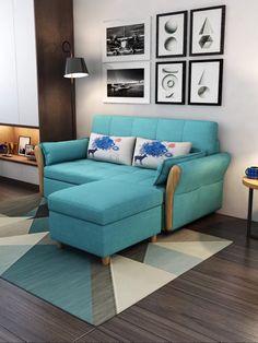 Sofa Bed Living Room, Living Room Sofa Design, Living Room Designs, Home Decor Furniture, Sofa Furniture, Living Room Furniture, Space Furniture, Furniture Design, Sofa Cumbed Design