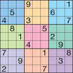 Friday, January 2, 2015: The Original Sudoku - 2015 Page-A-Day Calendar - HARD puzzle. #Sudoku #Puzzles #Games