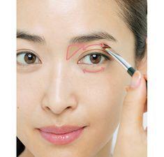 目ヂカラダウンが気になる40代のための、誰にも気づかれないアイメイク「仕込み」テク|Marisol ONLINE|女っぷり上々!40代をもっとキレイに。 Makeup Tips, Beauty Makeup, Eye Makeup, Hair Makeup, Beauty Book, Make Beauty, Korean Makeup, Concealer, Health And Beauty