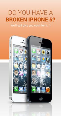 Broken iPhone's still have value to us. Quit stashing them in your drawer and cash in at ePelican.com