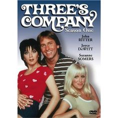 """""""Three's Company"""" - John Ritter, Joyce DeWitt and Suzanne Somers Best 80s Tv Shows, Great Tv Shows, Favorite Tv Shows, Favorite Things, 1980 Tv Shows, Suzanne Somers, Dc Movies, Movie Tv, Best Tv"""