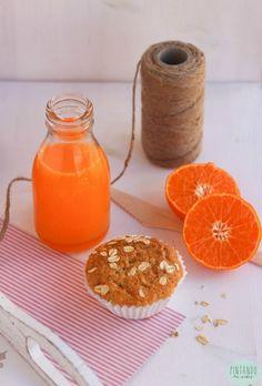 Bizcocho de avena y nueces (desayuno de domingo) - Pintando las nubes Grapefruit, Orange, Cake, Recipes, Food, Healthy Baking, Breakfast Healthy, Health Foods, Diets