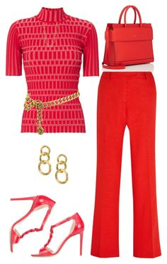 """""""Untitled #1675"""" by amdavis1218 on Polyvore featuring Givenchy, Joseph, Altuzarra, Marco Bicego and Chanel"""