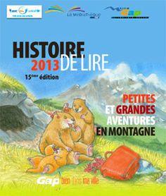 """GAP - Jusqu'au 30 mars - 15ème édition de """"Histoire de lire"""" 2013 - Cliquez pour voir le programme"""