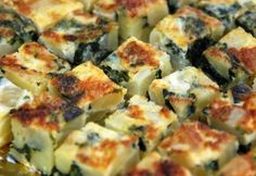 Kartoffelauflauf mit Spinat | erdbeerlounge.de