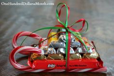 Miniature Santa Sleighs