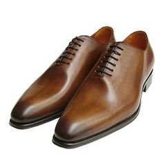 *LIMITED EDITION* Whole Cut Designer Mahogany Brown Mens Shoes by Arthur Knight