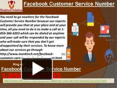 What are the merits of Facebook Customer Service Number? Call at 1-850-366-6203Well, if you are encountering any Facebook issues then you need to make a call at 1-850-366-6203 where you will be redirected to our Facebook Customer Service Number team's experts who are not working for the money or for some royalty because they are working for you and this dedication always keep them going on. To get more informative visit…