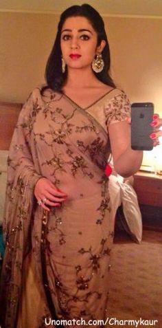 Charmy Kaur, Indian Fashion, Actresses, Saris, Formal Dresses, Collection, Female Actresses, Dresses For Formal, Sarees